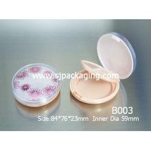 round compact powder case compact face powder case round compact powder case