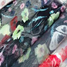 Moda impressão Net / tela de engranzamento do vestuário, têxteis lar