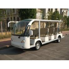 Customized for Shuttle Bus Gas powered sightseeing bus for tourist export to French Guiana Manufacturers