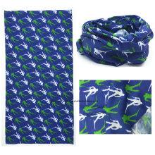 Китай OEM производим подгонянный логос напечатанный Microfiber выдвиженческий многофункциональный шарф спортов шарф