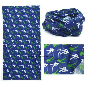 Chine Factory OEM Produce Personnalisé Logo imprimé Polyester Microfibre Multifonctionnel Echarpes Buff