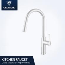Wastafel Dapur Warna Putih Pull Down Sprayer Faucet
