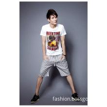 Men Casual Fashion Summer Cotton Jeans Shorts (LSBP024)