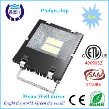 ETL SAA Aprovado luz de inundação conduzida ao ar livre IP65 150W ETL Floodlight do diodo emissor de luz