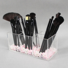 Groothandel acryl make-up borstel organisator