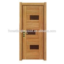Clásica puerta de montante de melamina sin pintura