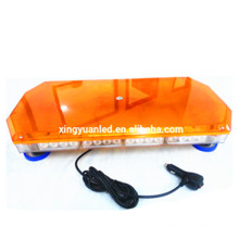 40W/56w Led Strobe Emergency Light Bar, 60cm LED Mini Warning Signal Light Bar, Amber LED Mini LightBar