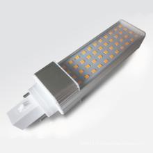 Downlight de plafond 5630 SMD LED G23 G24 7W Dimmable LED PLC Light