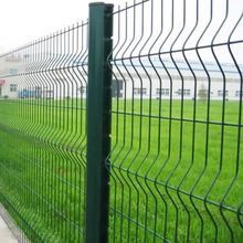 Triangle 3D Curved Welded Wire Mesh Panel Fence