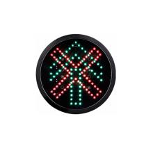 200mm 8 pulgadas LED semáforo del vehículo óptico