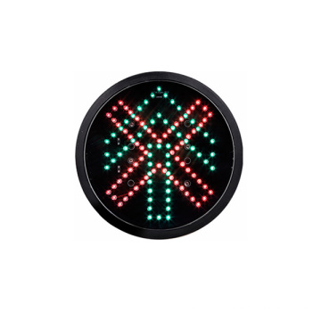 200mm optique de véhicule de feu de signalisation de 8 pouces LED