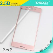 Protecteur d'écran en verre trempé HD, en verre trempé sans bulles pour Sony Xperia xz