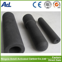 activated carbon rod for heavy metals removal