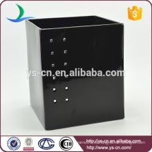 Cubo de diamante de cerámica negro