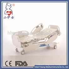 Luxury central locking castors homecare nursing bed