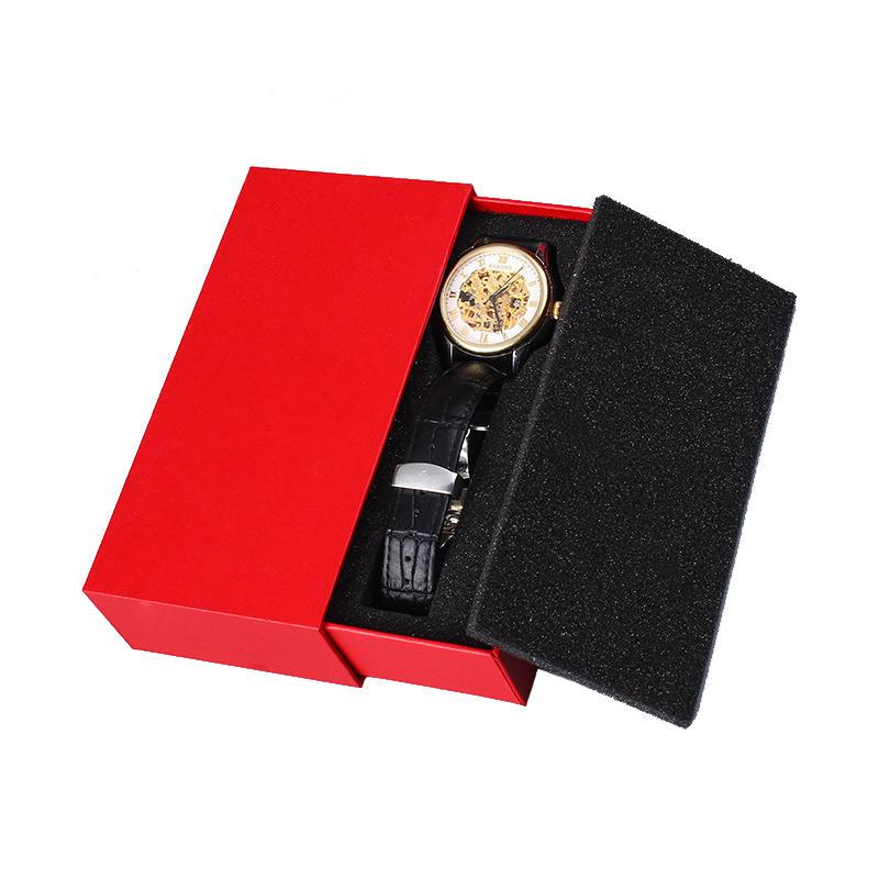 Red Sliding Rigid Gift Box