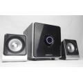 neue private Design 2.1 Lautsprecher