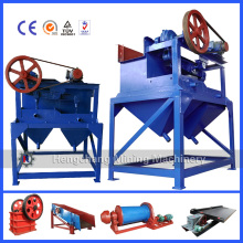 heavy mineral concentration jig for ore mining
