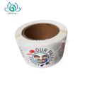 Impresión personalizada troquelado logo adhesivo etiquetas, adhesivos de vinilo