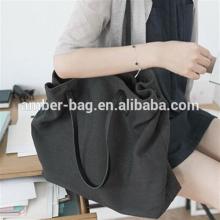 shopping bag/canvas leisure bag/large capacity bag/shoulder bag
