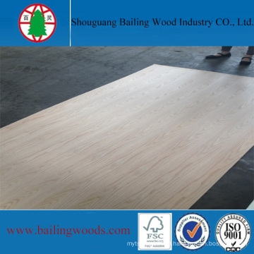 High Grade Natural Red Oak Plywood 5.2mm