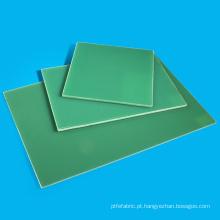 Folha verde de pano de vidro G10 FR4 de cola Epoxy