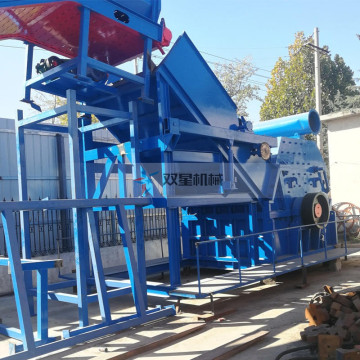 Mesin Peralatan Scrap Metal Crusher Heavy Duty
