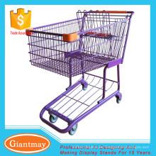 Supermarkt-Einkaufswagen