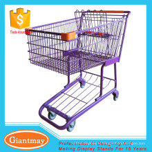 vente de chariots de magasins de supermarchés
