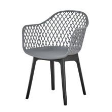 Cadeiras de jantar de plástico de estilo moderno da Europa americana