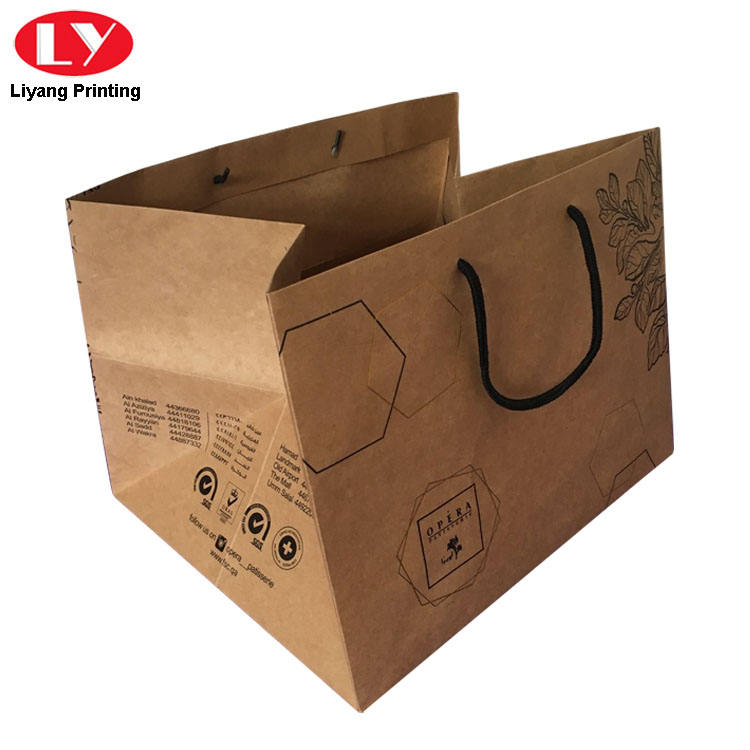 Kraft Paper Bag For Potted Plant Flower