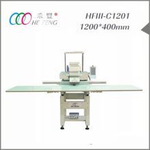 big area single head embroidery machine