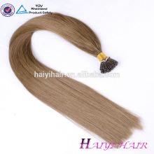 European Remy Ich tippe vorgebundene Haare 100 Echthaarverlängerung