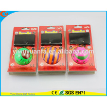 Hot Selling Various Designs Kid's Toy Wrist Hi Bouncing Rubber Ball
