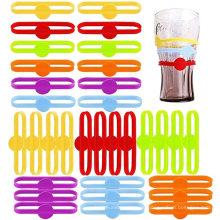 Marcadores de etiquetas de tira de botellas Marcadores de vasos de vidrio