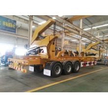 Conteneur Lifter Side Trailer Loader Remorque