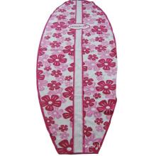 Toalha de praia impressa em formato de prancha de surfe