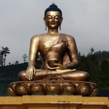 estatua de bronce de alta calidad de mujer Buda