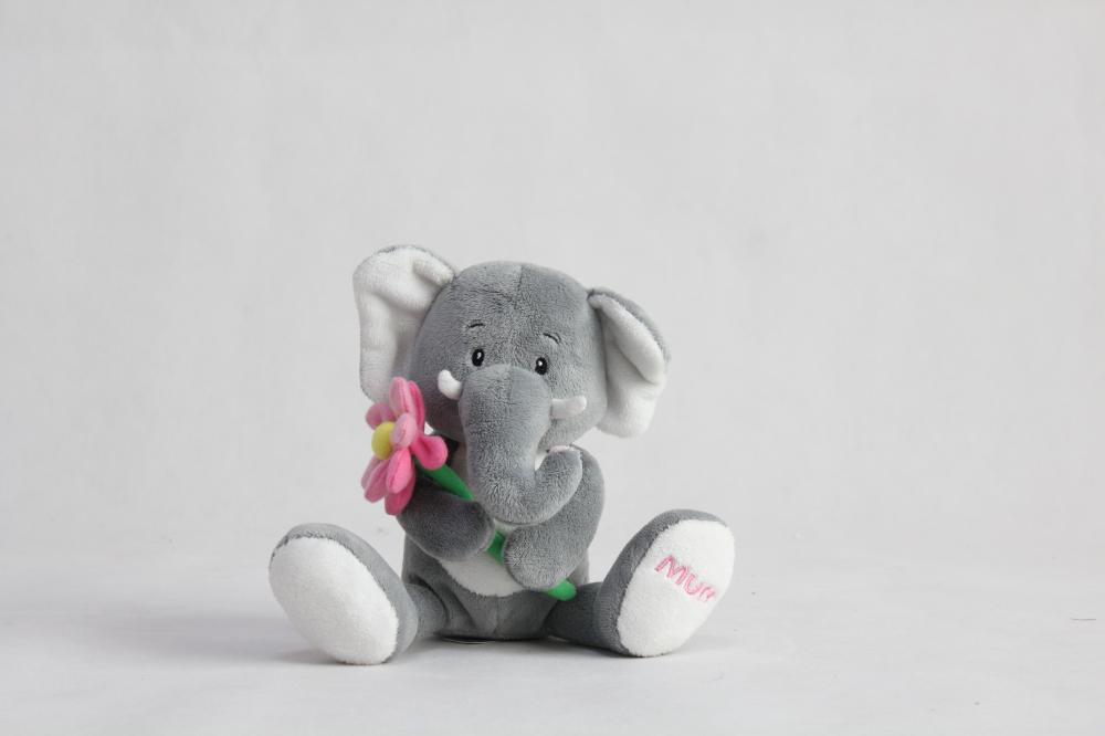 Super cute 'mother elephant doll gift plot