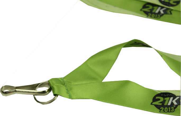 lanyard with metal holder