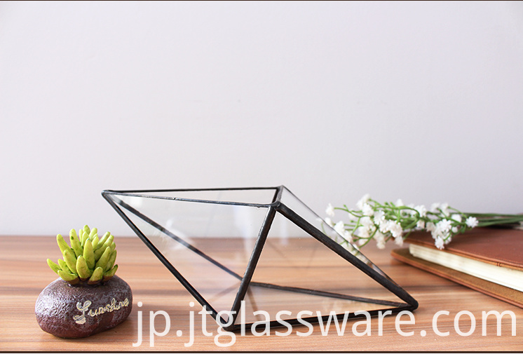 Terrarium Glass Geometric3