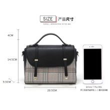 High Quality PU Leather Messenger Satchel Bag