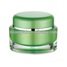 15ml 30ml 50ml Oval shaped Acrylic cosmetic package jar