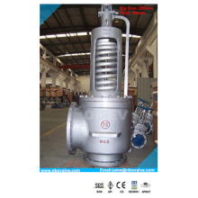 Boiler NPT / RF Pressure Safety Relief Valve (250mm WCB/CF8/304)