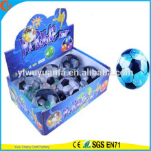 High Qulity Kid's Toy LED Rubber 85 milímetros Futebol Flashing Water Bouncy Ball