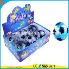 Высокая qulity детские игрушки светодиодный резиновый 85мм Футбол мигающий воды надувной мяч