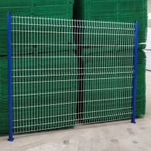 Hot dipped galvanized then Pvc coated 3d weld wire mesh fencing in Factory