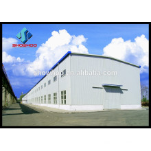 prefabricated steel structure frame house for temporary office