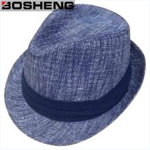 Мода Зимние теплые мужчины Fedora Felt Hat Оптовая торговля
