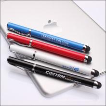 2-в-1 Сенсорный экран Стилус Шариковая ручка для iPad, iPhone, планшета смартфона ТС-Ts005